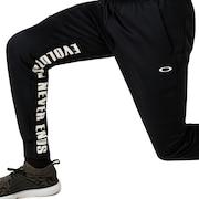 Enhance Grid Fleece Pants 9.7 - Blackout