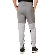 Enhance Grid Fleece Pants 9.7 - Charcoal/Heather Gray