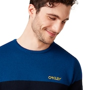 Oakley Fs Crew Tech Knit - Foggy Blue