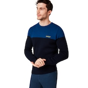 Oakley Fs Crew Tech Knit - Foggy Blue