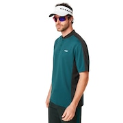 Bomber Collar Piquet Polo - Planet