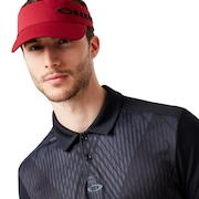 Cross Graphic Polo - Blackout