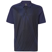 Cross Graphic Polo - Strong Violet
