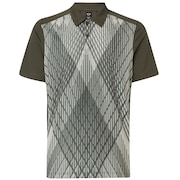 Cross Graphic Polo - New Dark Brush