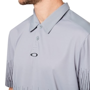 Football Uniform Polo - Steel Gray