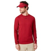 Light Knit Crewneck - Raspberry