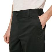 Chino Icon Golf Short - Dull Onyx