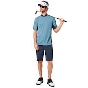 Chino Icon Golf Short - Foggy Blue