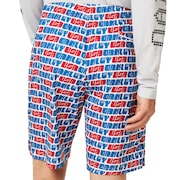 Enhance Graphic Shorts 9.7 - White