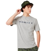 Camo Logo Tee - New Granite Heather