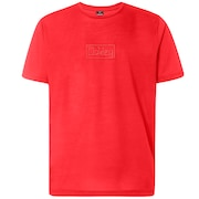 Oakley Embroideried Tee - High Risk Red