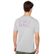 Oakley USA Tee - New Granite Heather