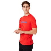 Oakley USA Star Tee - High Risk Red