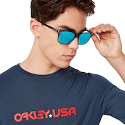Oakley USA Star Tee - Foggy Blue
