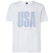 USA Allover Tee - White