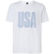 USA Allover Tee - White