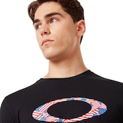 Ellipse USA Pattern Tee - Blackout