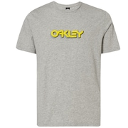Oakley Tridimensional Tee - New Granite Heather