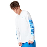 Always First Long Sleeve Tee - White