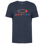 Ellipse Rainbow Tee - Foggy Blue