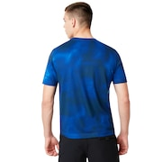 Shadow Tee - Matrix Blue
