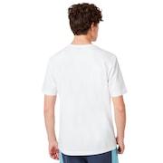 Oakley Allover Logo Tee - White