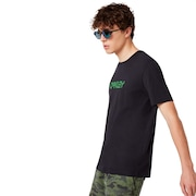 Oakley Allover Logo Tee - Blackout