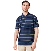 Piquet Striped Polo