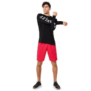 3 Rd-G O Fit Long Sleeve Tee 2.7 - Blackout