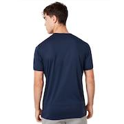 Enhance Big Qd Short Sleeve Tee - Foggy Blue