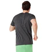 Enhance Big Qd Short Sleeve Tee - Dark Gray Heather
