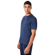 Enhance Stretch Short Sleeve Crew 9.7 - Foggy Blue