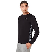 Enhance Qd Long Sleeve Tee - Blackout