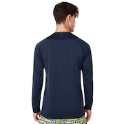 Enhance Long Sleeve Crew 9.7 - Foggy Blue