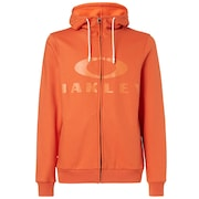 Bark FZ Hoodie - Energy Orange
