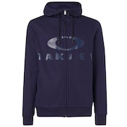 Bark FZ Hoodie - Strong Violet