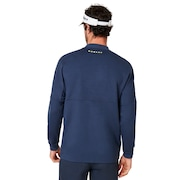 Bimaterial Fleece - Foggy Blue