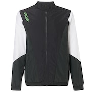 Nylon Track Jacket - Blackout