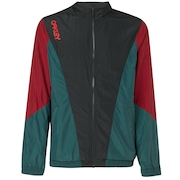 Nylon Track Jacket - Dull Onyx