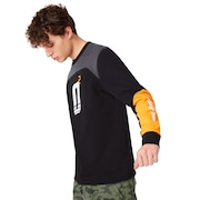 Oakley Racing Team Crew Neck - Blackout