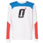 Oakley Racing Team Crew Neck - White
