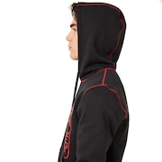 Overlock Pullover Hoodie - Dull Onyx