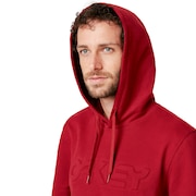 Oakley Embossed Graphic Hoodie - Raspberry