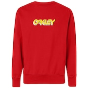 Oakley Tridimensional Crew Neck - High Risk Red