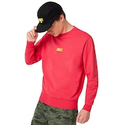 Oakley Team Crew Neck - Virtual Pink