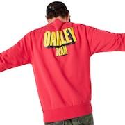 Oakley Team Crew Neck - Virtual Pink