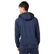 Enhance Grid Fleece Jacket 9.7 - Foggy Blue
