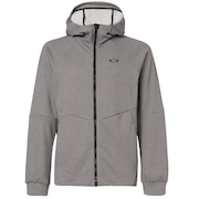 Enhance Grid Fleece Jacket 9.7 - Dark Gray Heather