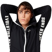 Enhance Grid Fleece Jacket 9.7 - Blackout