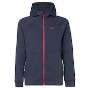 Enhance Grid Fleece Jacket 9.7 - Foggy Blue